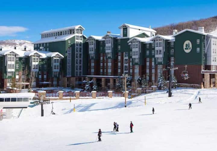 Marriott Mountainside Park City Ski in and out!