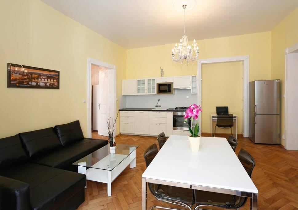apartmentpstrossova nationaltheatre wohnungen zur miete. Black Bedroom Furniture Sets. Home Design Ideas