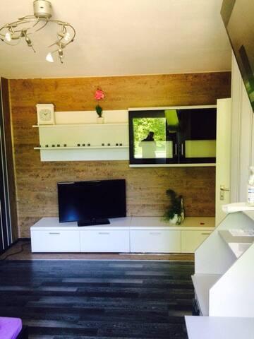 gemütliches, ruhiges Zimmer 1A Lage - Haan - Apartamento
