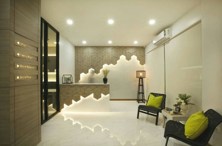 Cozy apt in Siam district B1-Deluxe Double BR