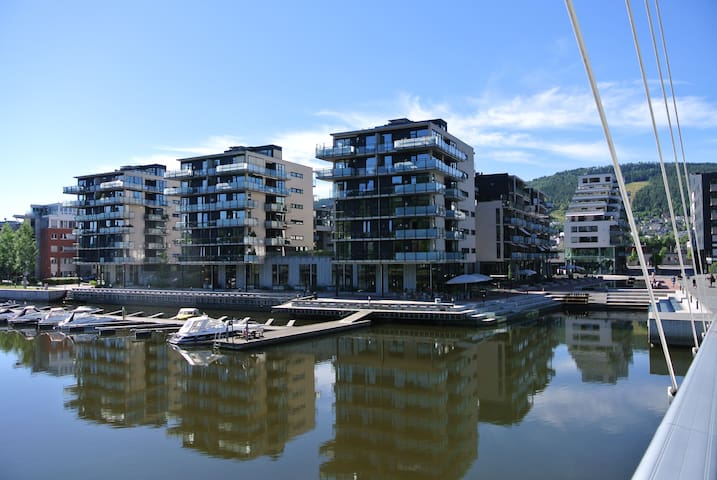 Way better and cheaper than the best hotel in town - 德拉門(Drammen)