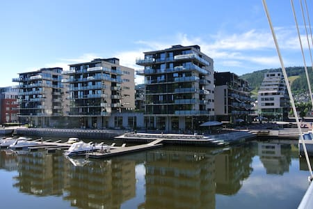 Way better and cheaper than the best hotel in town - 德拉门(Drammen) - 公寓
