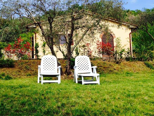 Gorgeous cottage near Cortona - La Dogana - Vila