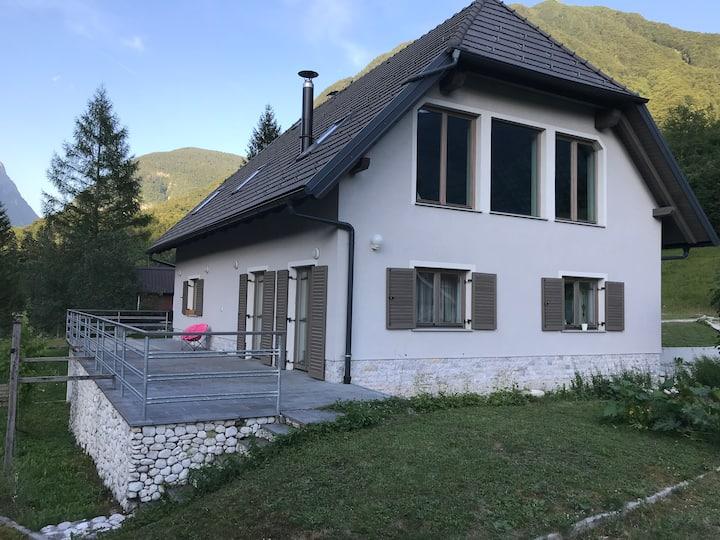 House by the Soča river