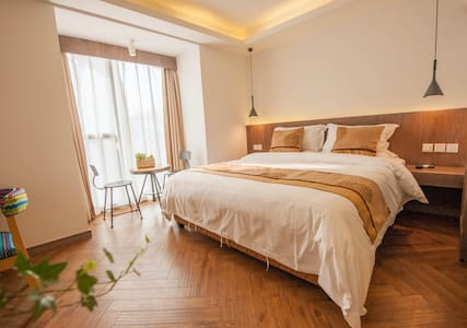 落地飘窗大床房208 - Hangzhou - Villa