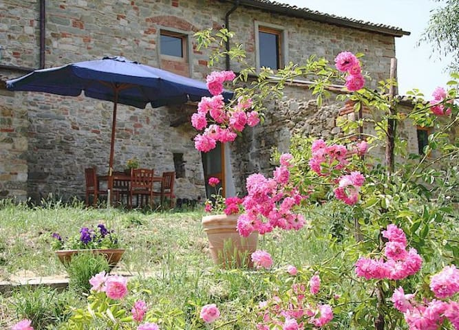 Simplicity in Organic Farmhouse R - Greve in Chianti - Flat