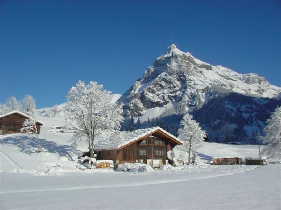 The Hayloft in winter