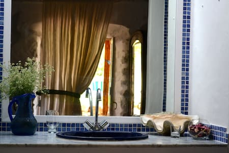 ☮ Ethno Ibiza ☯ room #4 (twin beds) - Sant Rafel de Sa Creu