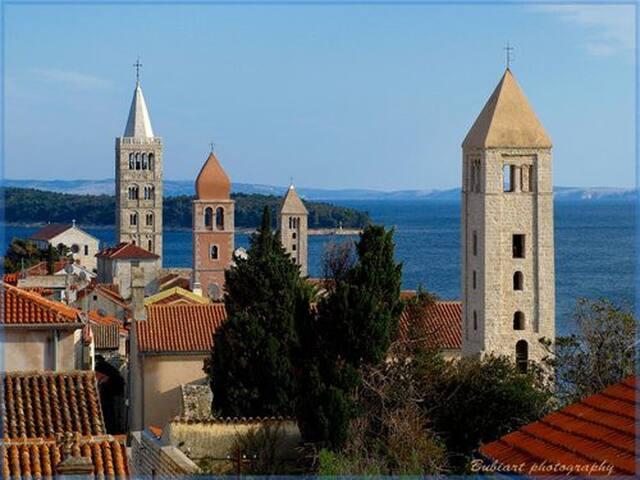 Croatia,Island of Rab, top location apartments