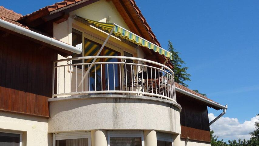 Sunny Gergely apartment at Balaton - Balatonlelle - Appartement