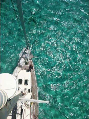 Croisière aux grenadines... - Tobago Cays - Boat