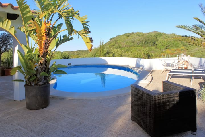 Beautiful villa with pool - Maó-Mahón