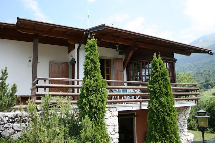 chalet MONTE BALDO, on lake Garda
