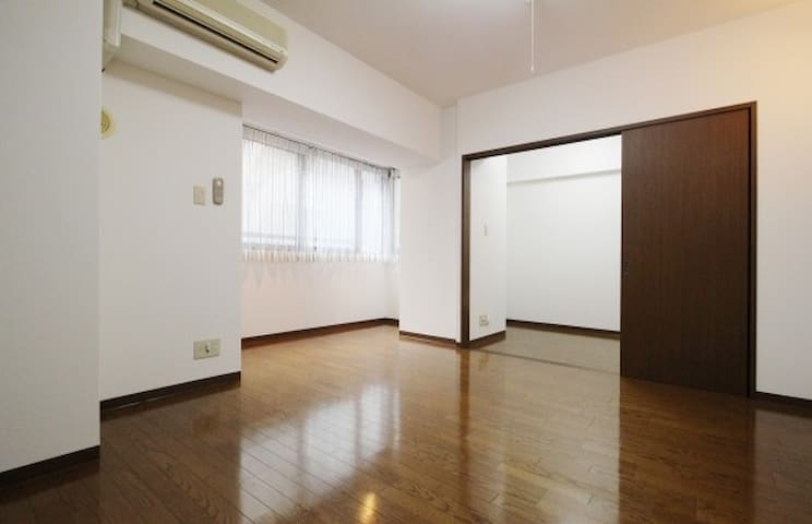 Apt at Hamamatsu-cho! Great Location/Spacious Room - Minato-ku - Lägenhet