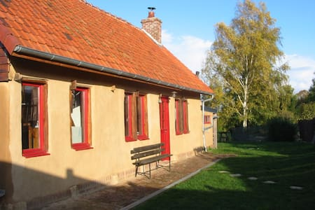 Holiday cottage in Picardy - Sentelie - Maison écologique