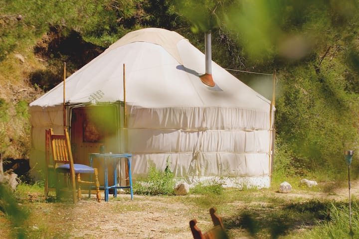 Yurt Glamping near Otivar in Costa Tropical - Otívar - Yurt