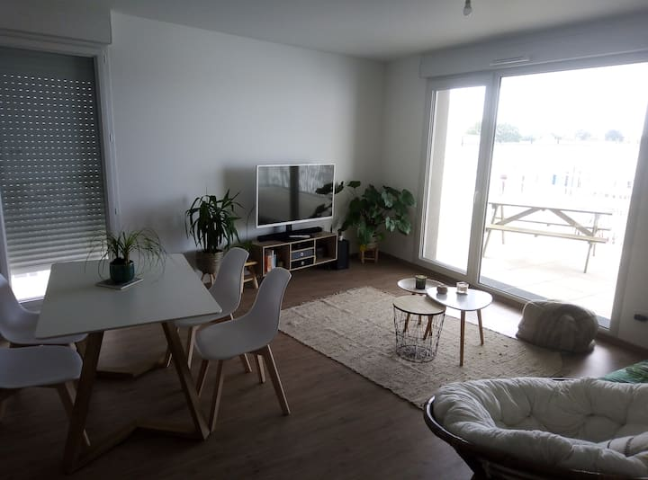 Très bel appartement neuf et lumineux