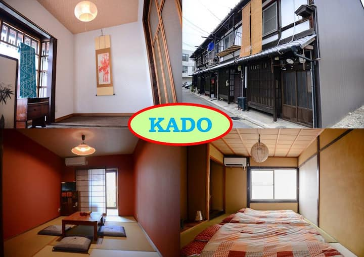 Feel Real Kyoto! 1stop to JR Kyoto Sta! /FreeWiFI