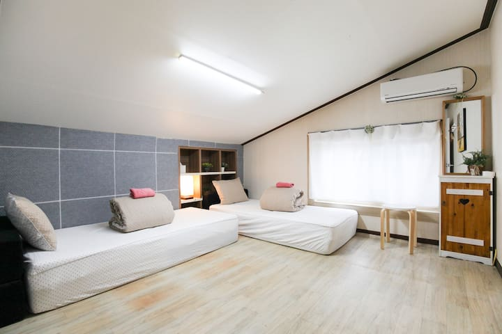 worlang twin room near airport - Wollang-ro 6-gil, Jeju-si - Dom