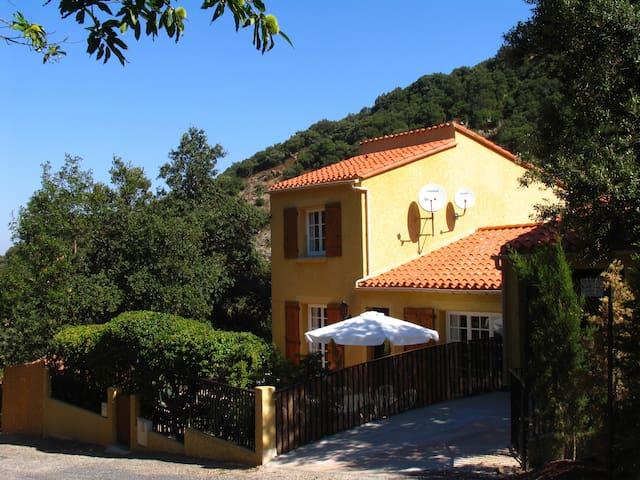 Villa located in a calm valley