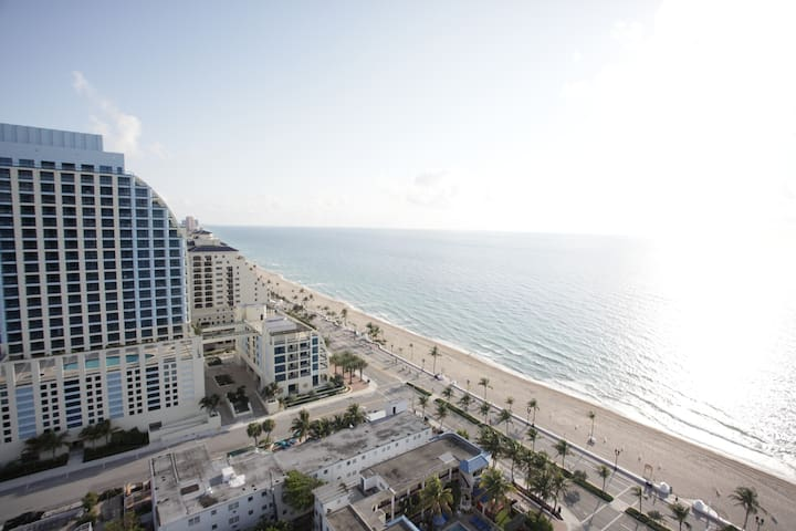 Oceanview luxury hotel suite - Fort Lauderdale - Apartment
