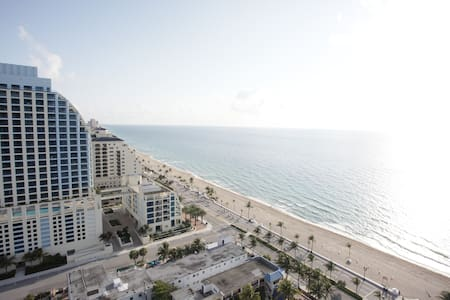 Oceanview luxury hotel suite - Fort Lauderdale - Apartamento