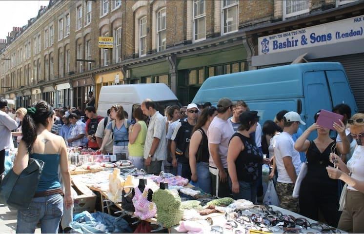 The Bricklane Market