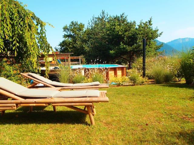 Lac Annecy Studio  vue montagnes - Saint-Jorioz - Wohnung