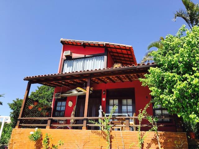Casa charmosa em Geribá, Buzios