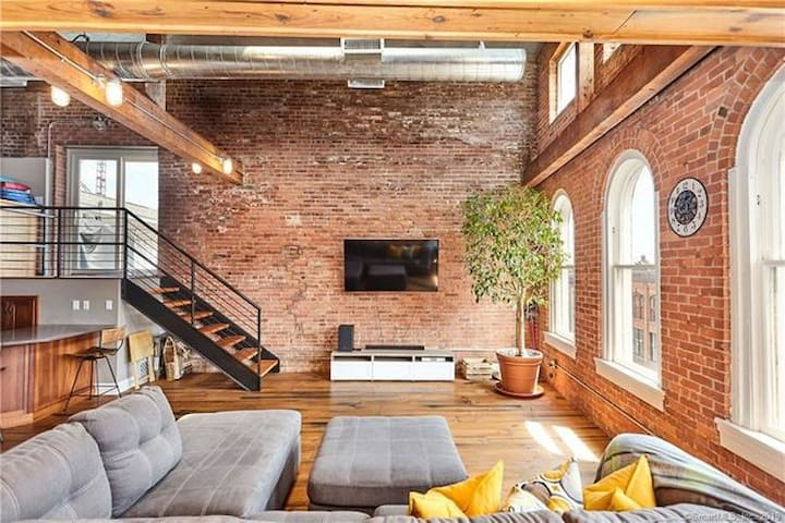 Gorgeous SONO Penthouse Loft w/ Private Roofdeck