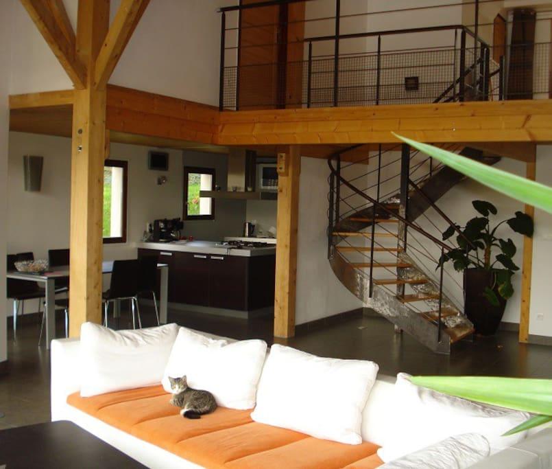 Maison 150m2 avec chambres à l'étage