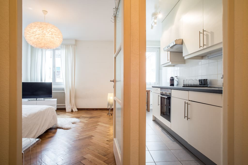 Studio neuf avec chambre separ e apartments for rent in for Chambre separee