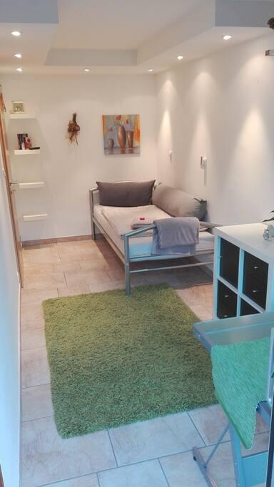 stadtnah 1 mit Einzelbett