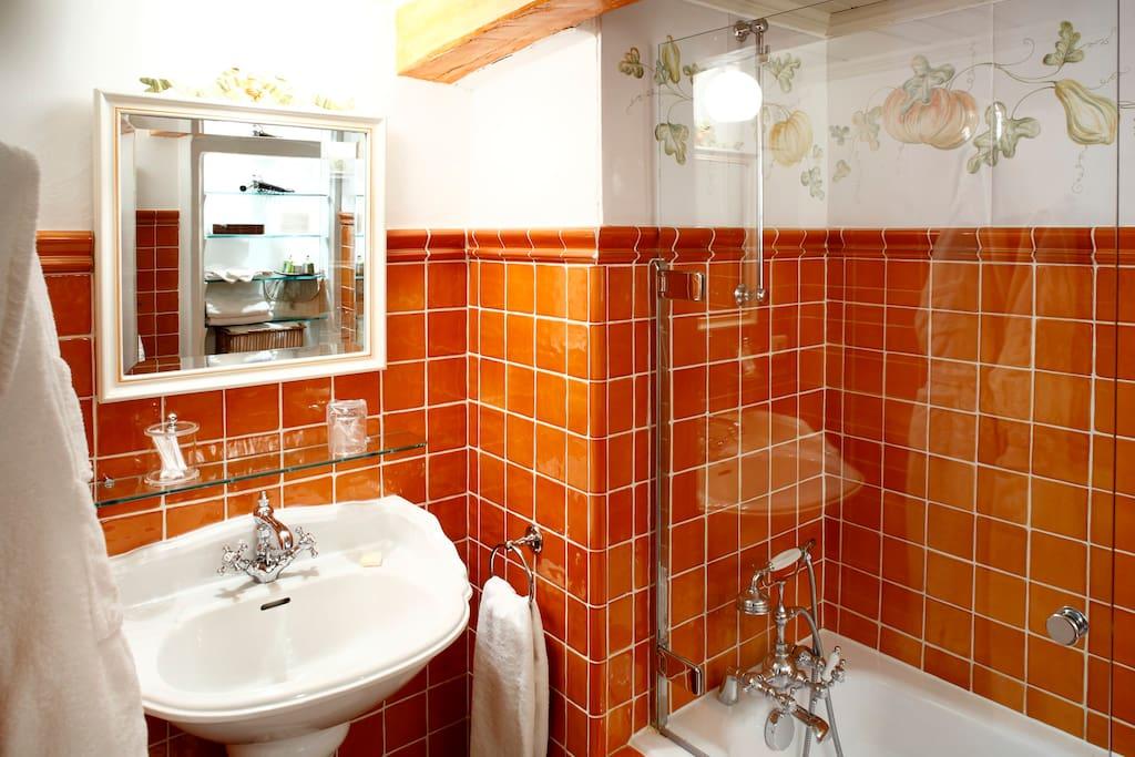 Chambre Potiron - salle de bain