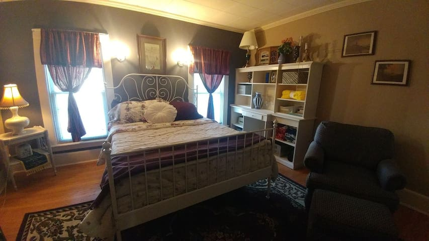 Large Bedroom #1 in Quiet Mount Clemens Home