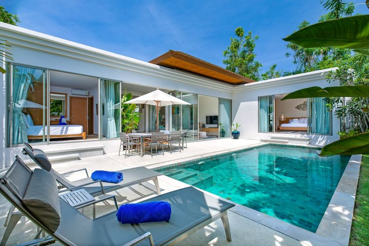 Sunny 3BR Villa with Private Pool at Bangtao Beach