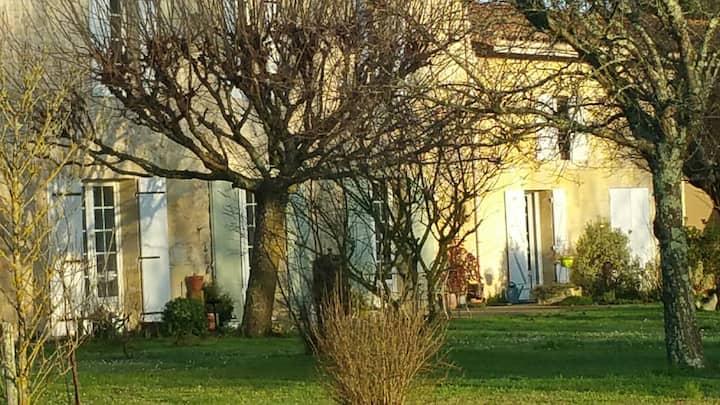 Gîte entre Bordeaux et St Emilion