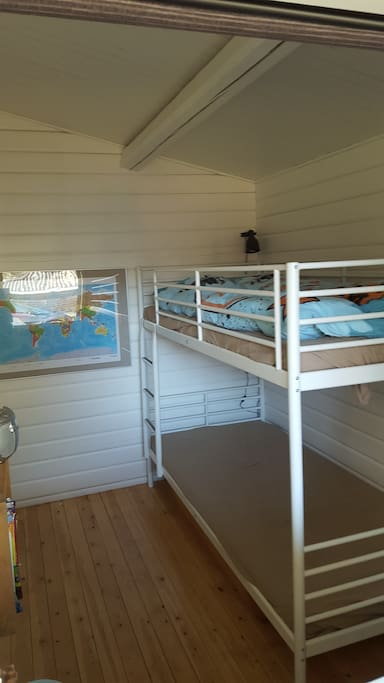 Childrens bedroom, beds are also suitable for adults