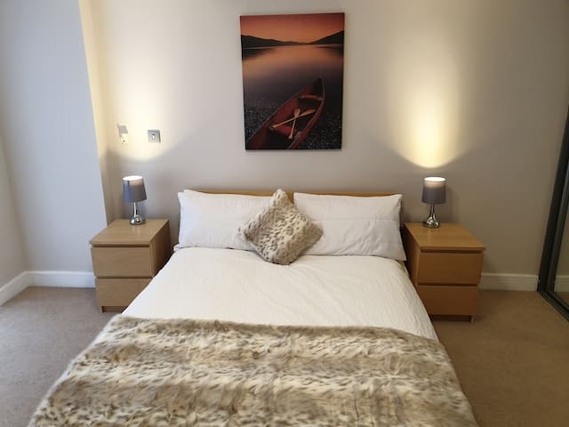 Birmingham's Diamond Apartment, sleeps 4 Guest