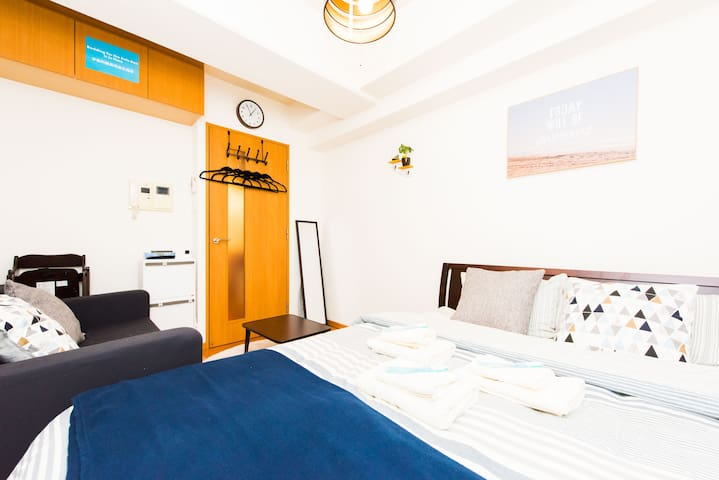 ★NEW!★ Shinsaibashi 心斎橋 6 min walk [Baby Friendly] - Chuo Ward, Osaka - Appartement
