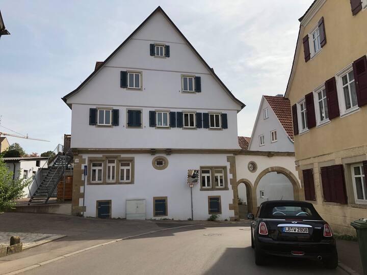 historisch Wohnen in Bietigheim- Bissingen (1599)