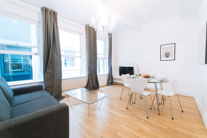 CENTRAL LONDON - HOLBORN LOVELY 1BR WITH PATIO!