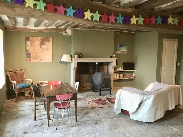 COSY GITE IN MEDIEVAL VILLAGE FARMHOUSE