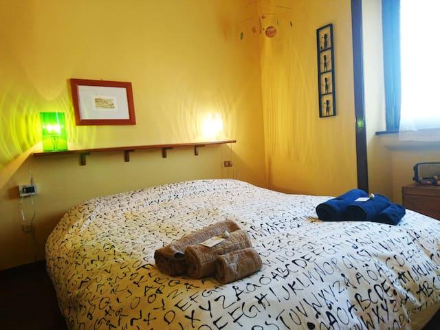 The master bedroom and brazilian handicraft