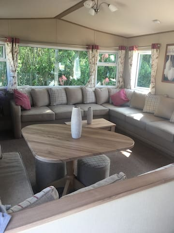 A relaxing caravan stay on Isle of Wight