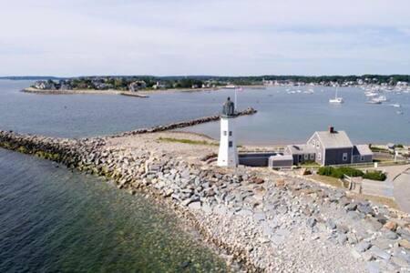 SummerSea Cottage - Scituate Harbor Retreat- Beach