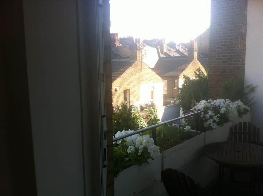 Great South facing balcony