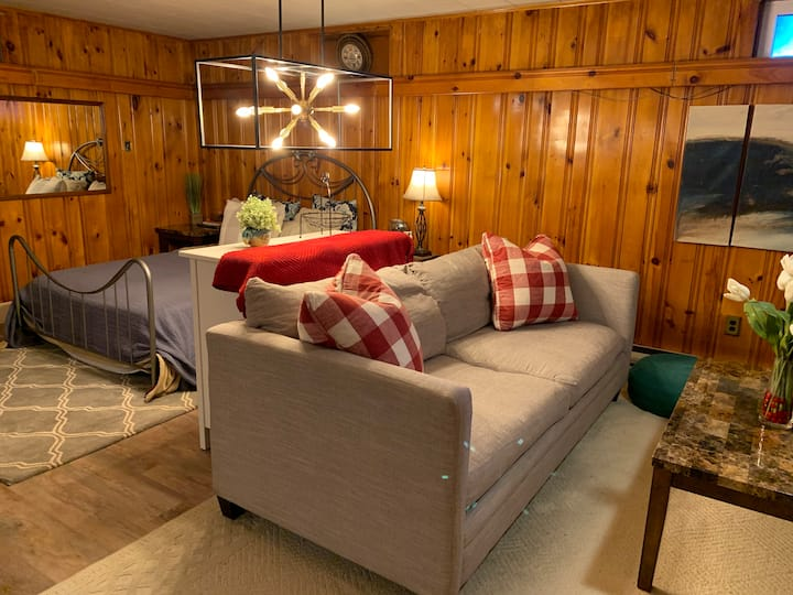 Cabin Vibe Suite w/Parking, Office & Own Entrance