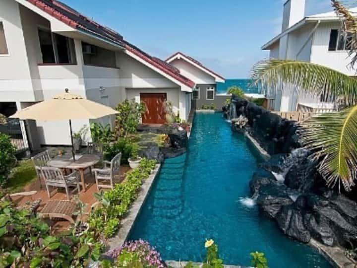 Large Studio - Ocean/Mtn Views-60' Waterfall Pool