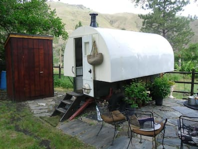 Garden Sheep Wagon